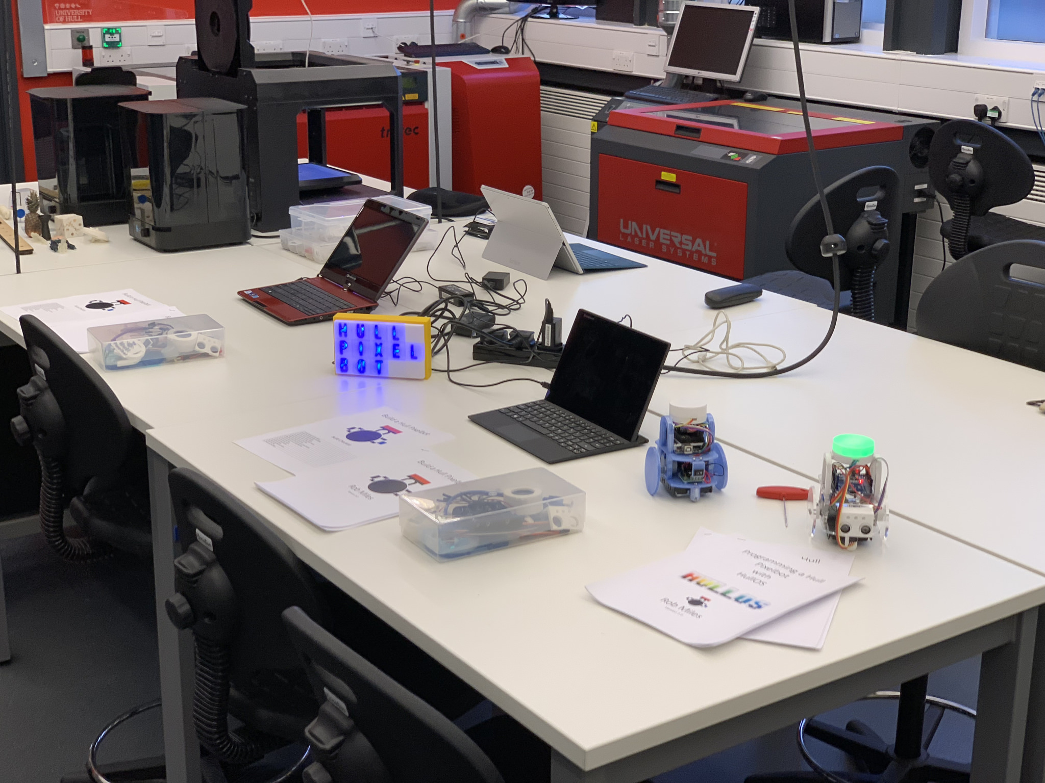 A Hull University Robot Lab